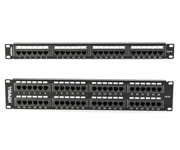 CAT6 & CAT5e Patch Panels